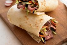 Tortilla Wraps and Sammies / #Wraps #Sandwiches