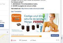 Concurs Ferro / Castiga unul dintre cele 3 seturi de accesorii FERRO. Ce trebuie sa faci? 1. ABONEAZA-TE la Newsletterul nostru. 2. SHARE la pagina de concurs e-Baie  Vezi detalii aici: http://www.e-baie.ro/concurs-ebaie