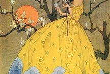 Art Deco drawings/fantasy