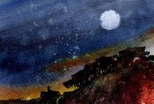 Night Painitings
