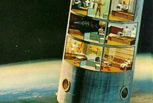 Retro astronauts