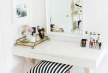 -> Beauty Layout Ideas / For my vanity!