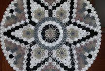 Mandala strijkkralen patronen