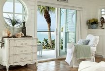 Beach Lovers Decore / Decorating with a relaxed beach feel, zen, casual elegance