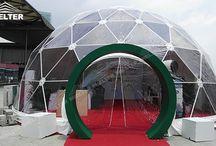 Cort Dome- Domuri Geodezice
