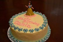 Disney Princesses Cakes
