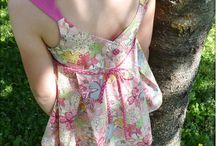 Patrons Une Rose sur la lune / patrons de couture pour enfant