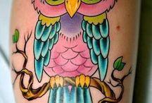 Corujas tatoos