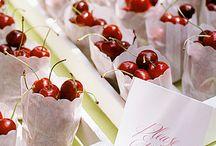 comidas festa cereja