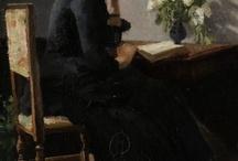 Art:Kitty Kielland / Norwegian painter 1843-1914