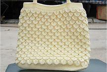 šité kabelky / kabelky vytvořené různými tchnikami
