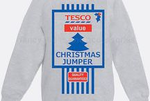 Funny Christmas Jumpers / Christmas Jumpers are fun to wear, get into the spirit of the festive season. Make your own if you want to be different, search for a #XmasJumper that not many people will have!