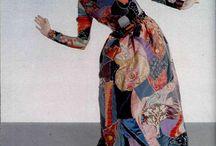 1960 patchwork dress