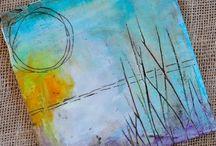 Watercolors...