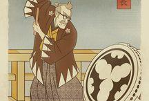Sengoku Batman by Scott Wade