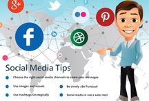 Social Media Tips / Google Plus / Facebook / Twitter / Instagram / LinkedIn and much more!