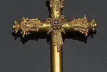 Cruces antiguas y fascinantes / Colección de imágenes d joyería antigua