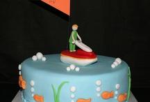 My design cakes / Decorated chocolat cake with r.f.m (sugar dough). / by Yehudit Servi Goren