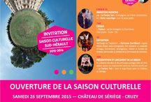 Evènements culturels à Sériège