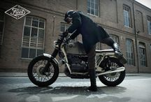 FUEL R100 STRASSE / A new custom bike based on a BMW R100. A motorcycle to get lost with style through the dark streets of Berlin city..