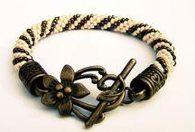 by SHINE. BEADING od Biżuteria Ze Szczyptą Magii. / Bead crochet...from me :)