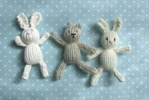 Knitted Animals & Baby Ideas