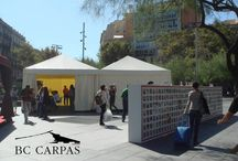 Carpa para eventos / Tents for events