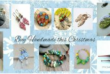 "Buy Handmade jewellery and components this Christmas Sale 11/11 to 14/11 / From the group of designers who brought you Unique Handmade Jewellery Sales at discounted prices, we now present our Handmade Christmas Gift Sale featuring unique pieces of handmade jewellery and beautiful jewellery making components for you to buy at a specially reduced prices for Christmas. There will be seasonal Giveaways and a surprise ""extra"" event featured throughout!"