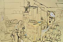 Urban Sketchers Reportage