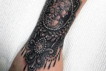 insp leg tattoo
