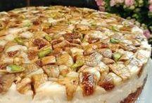 İncirli kremalı kek