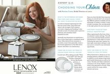 Registry-What's your style? / Thinking about how you entertain together can help you put together the perfect registry! / by Lenox