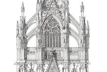 Ontwerpen van gotische kathedralen