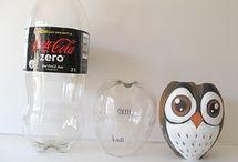 plastic flessen