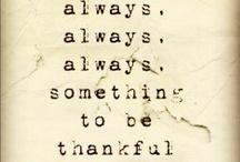 Gratitude / by Julie Dodson