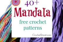 Mandala crochet / Find crochet patterns and inspiration for your projects.