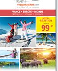 Enseignes VOYAGES grande distribution / Les brochures des agences de voyages de la grande distribution