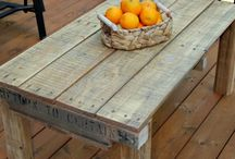 Fence board furniture
