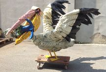 Pelican / Gomme paint + vernis