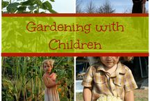 garden-kids outdoors! / by Constantina Olstedt