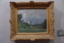OBRAS DE ALFRED SISLEY / Alfred Sisley (París, 30 de octubre de 1839 - Moret-sur-Loing 29 de enero de 1899) fue un pintor impresionista francobritánico.
