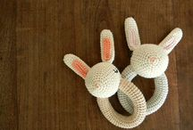 Crochet : Les hochets
