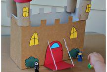 Castelos com materiais de Largo alcance