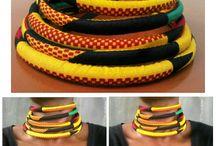 accessories  ankara print