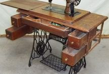 vintage sewing machines
