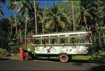 Transportation in The Islands of Tahiti