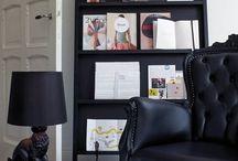 tijdschriften rek boekenkast