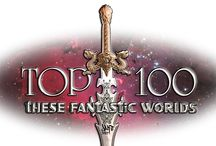 100 Top SF & Fantasy Books / Gaiman to Tolkien, Bradbury to Lovecraft these are my top 100 SF & F books.