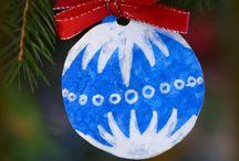 Ozdoby na stromeček-Vánoce