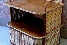 Мебель / Плетение из газет